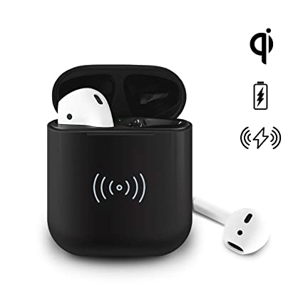 check out dce67 55bff Fast Wireless Charging Case Replacement for Air Pods, ZYSION Backup Charger  Case Compatible with Airpod, Built-in Power Batteries Support 5 Times Full  ...
