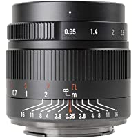 7artisans 35mm f0.95 Large Aperture APS-C Mirrorless Cameras Lens Compact for Fuji X-T1 X-T2 X-T3 X-T20 X-T30 X-E1 X-E2…
