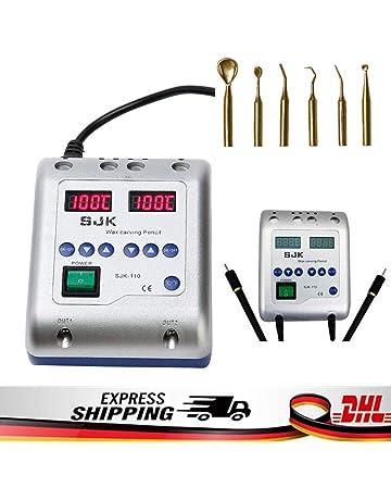 Calentador de cera Waxer eléctrico dental Cuchillo Doble Lápiz+6punta cera