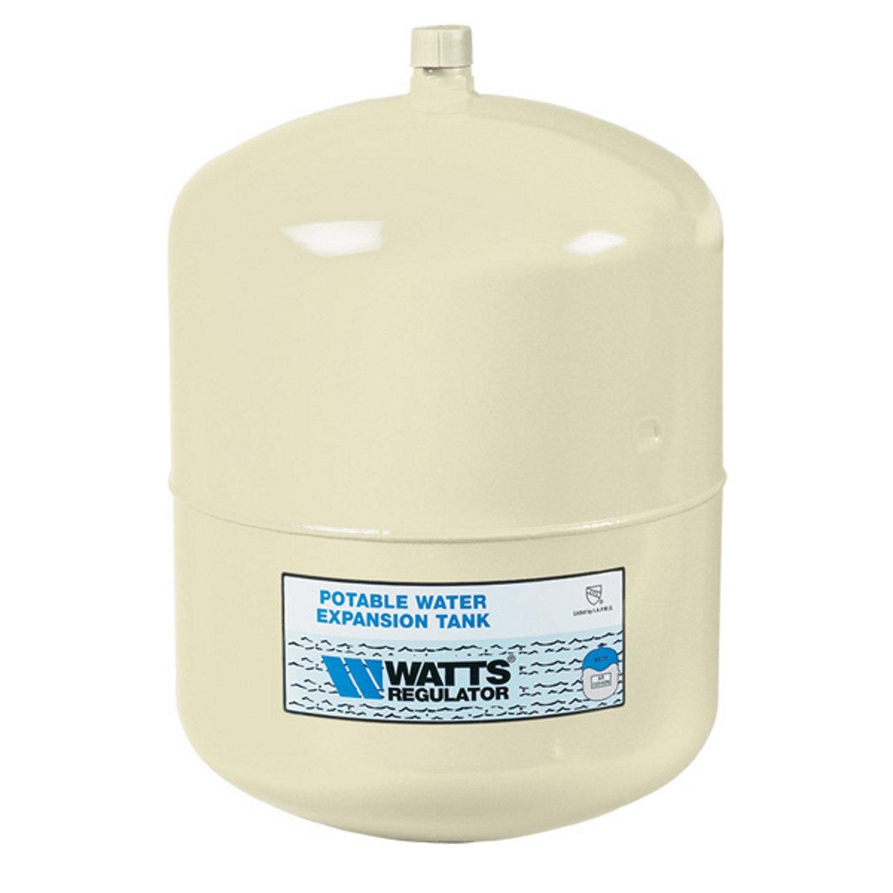 WATTS WATER TECHNOLOGIES GIDDS-1030402 Watts Potable Water Expansion Tank, Model #Plt-12, Stainless Steel Nipple, 4.5 Gallon, Lead Free - 1030402