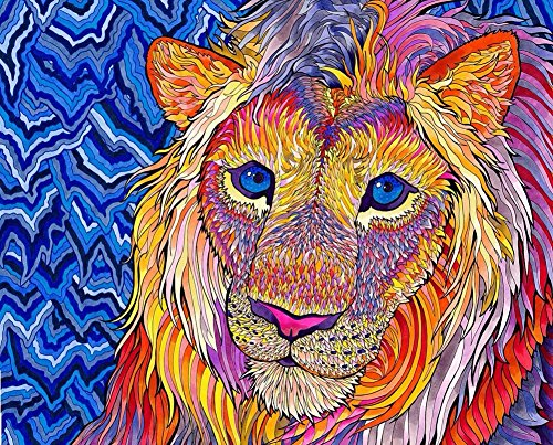 Psychedelic Trippy Art Fabric Cloth Rolled Wall Poster Print -- Size: (28