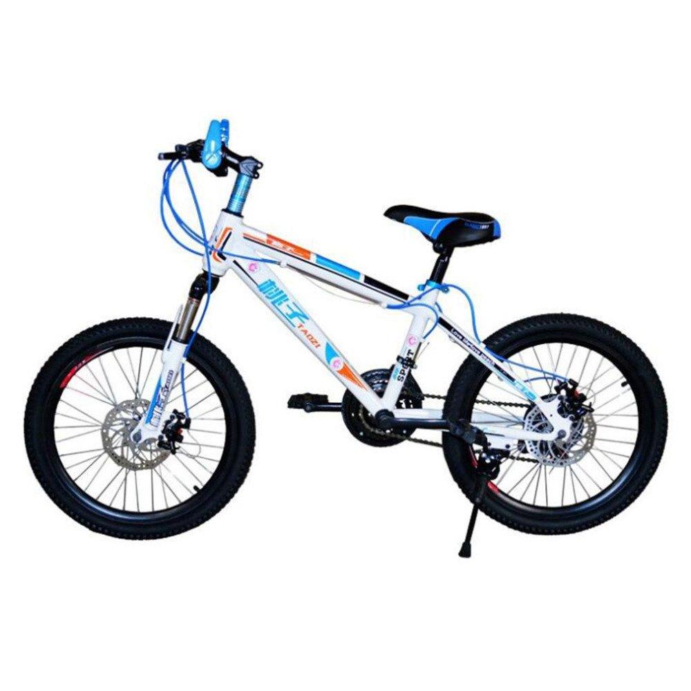HUALQ Bicicleta DE 20 Pulgadas Frenos de Disco Doble Bicicleta de Montaña/Niños Bicicleta/Niños Bicicleta