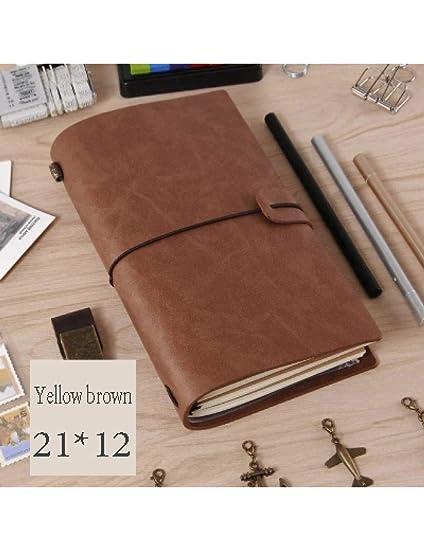 ZXSH Cuaderno Bloc De Notas Vintage Cuaderno Espiral A5 ...