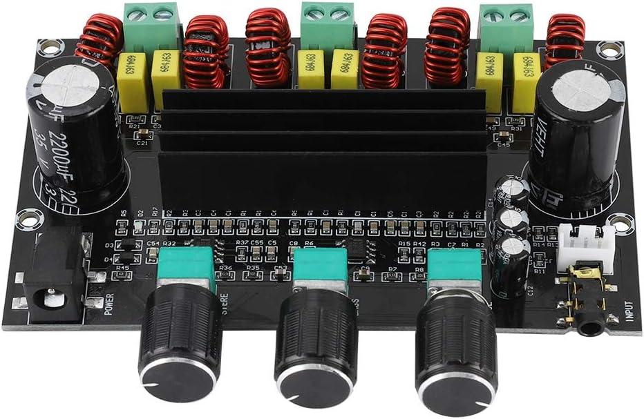 80W 100W Socobeta Amplificador Placa de Amplificador M/ódulo de Audio Digital de 2.1 Canales de Alta Potencia 2
