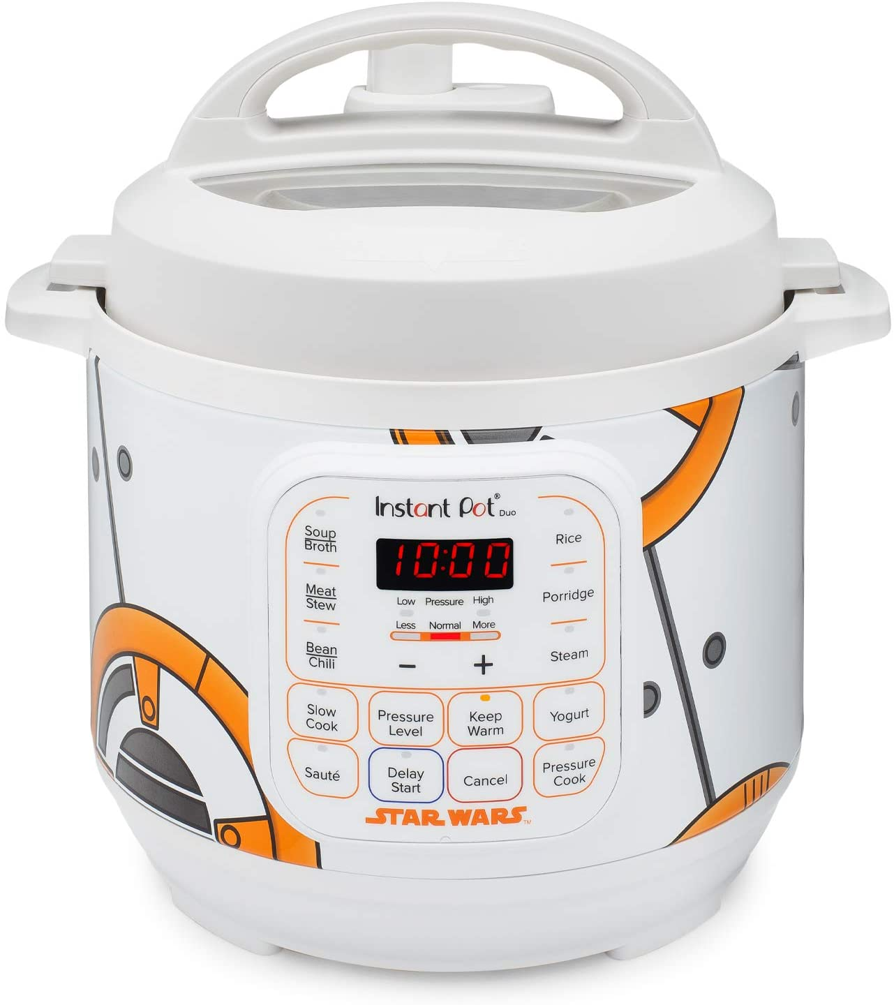 Instant Pot 110-0033-01 3Qt Star Wars Duo Mini 3-Qt. Pressure Cooker, White-BB-8