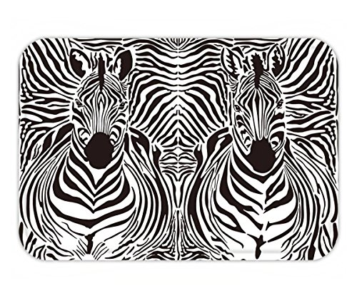 Beshowere Doormat illustration pattern background zebras skins and - Versace Zebra