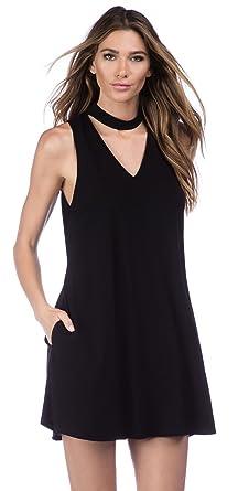c3134fd5902b4 La Blanca Women s Undercover High Neck Short Dress Swim Cover Up Black S