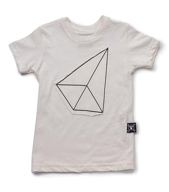 nununu Offwhite Patch – Camiseta Blanco beige