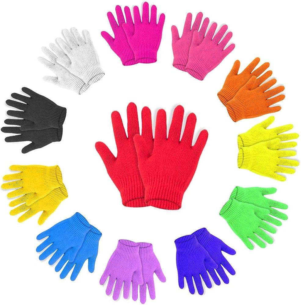 WXJ13 12 pares de guantes mágicos cálidos para niños, elásticos ...