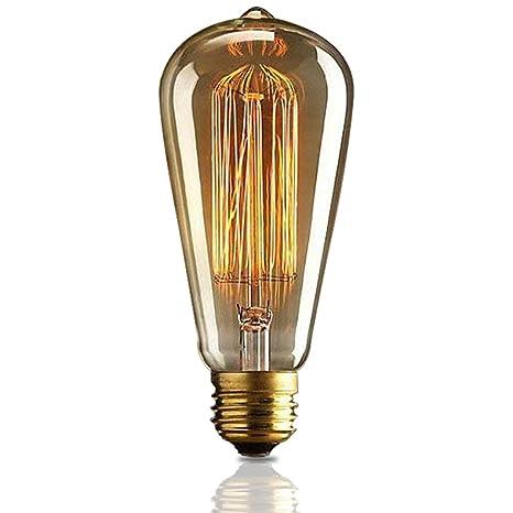 Edison E27 LED Glühfaden Glühbirnen Glühlampen Fadenlampe Lampe Licht