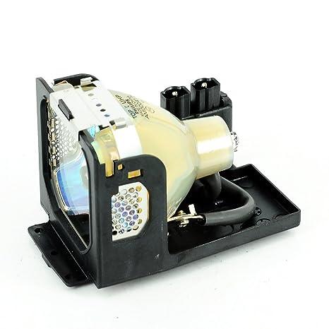 eWorldlamp LV-LP12 Canon proyector lámpara de repuesto con carcasa ...