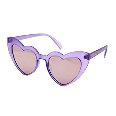 b116ed5387d Amazon.com  Betsey Johnson Women s Exaggerated Heart Cat Eye ...