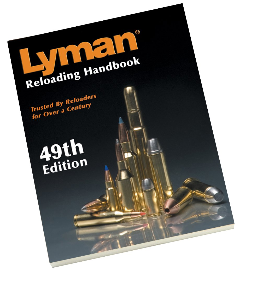 Lyman 49th Edition Reloading Handbook - Best Reloading Manual