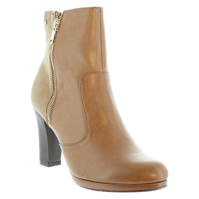 Botines de Mujer MARIA MARE 61199 NAPAL TAUPE Talla 40: Amazon.es: Zapatos y complementos