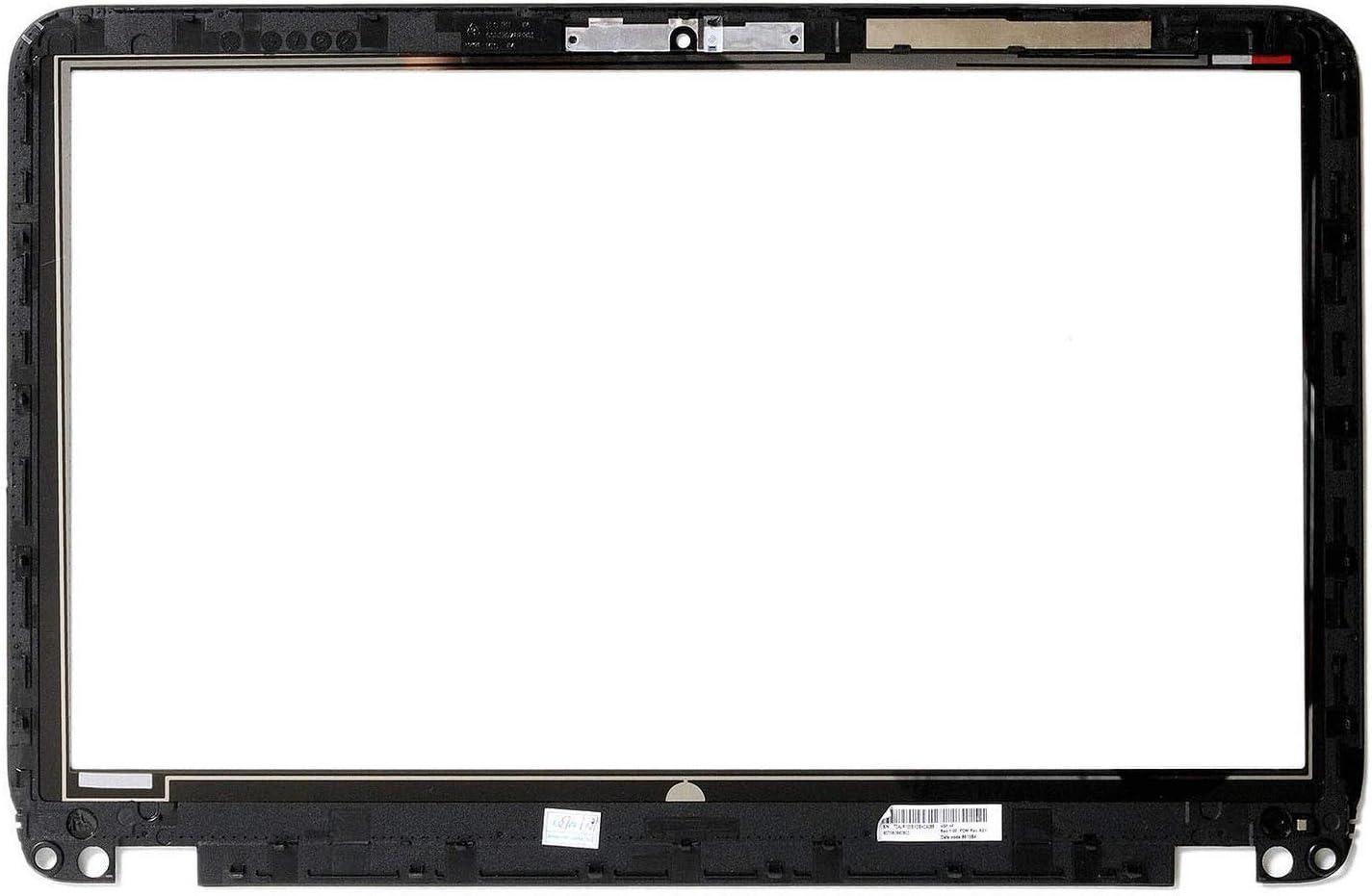 "HUAHAI 15.6"" Touch Screen Digitizer + Bezel for HP Envy TouchSmart 15-J (TCP15G06 V1.0)"