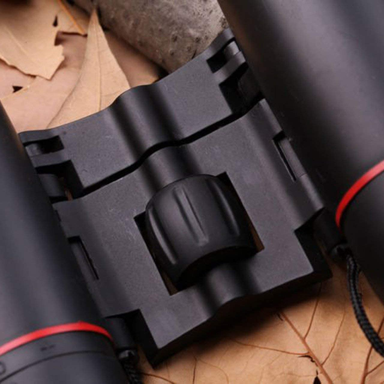 Small Folding Binoculars Mini Binoculars 30X60 HD Wide Angle Portable Low Light Level Night Vision Pocket Binoculars