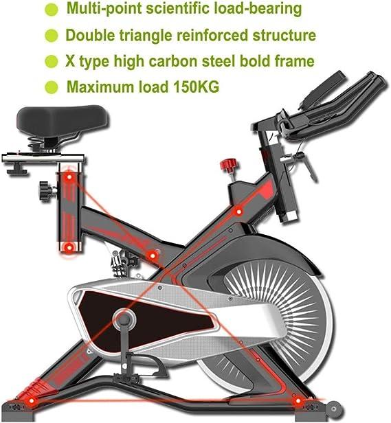 Cubierta silenciosa control magnético de la bicicleta estática ...