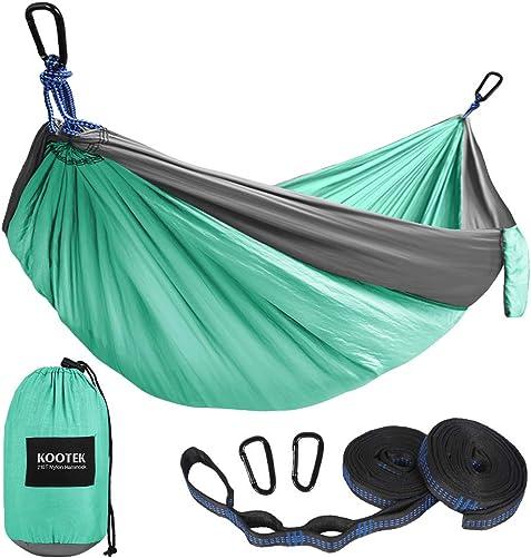 Kootek Camping Hammock Double Single Portable Hammock