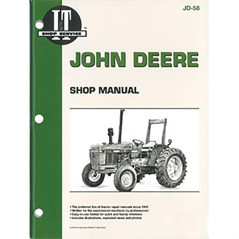 JD58 New John Deere Tractor Shop Manual 2150 2155 2255 2350 2355 2355N 2550  2555: Amazon.com: Industrial & Scientific