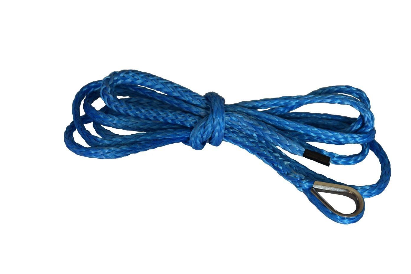 Blue 1//4*10ft Synthetic Plow Lift Rope,Synthetic Winch Rope,ATV Winch Cable,ATV Snow Plow LIft Rope 6500lbs
