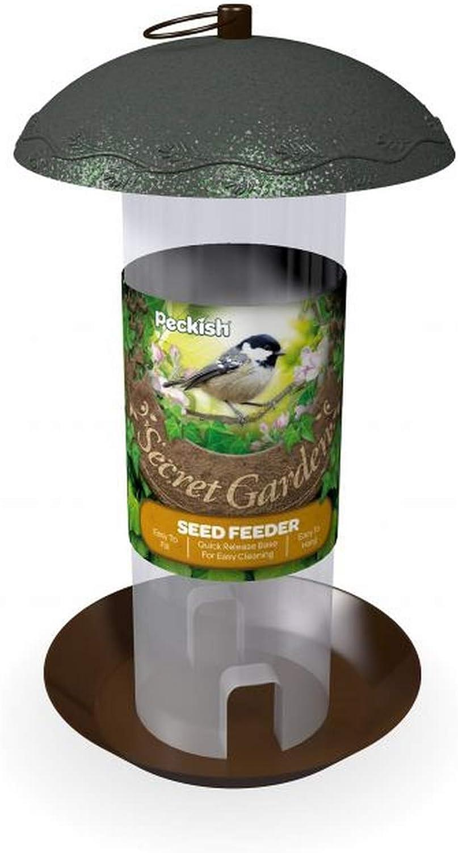 Peckish - Comedero de semillas modelo Secret Garden