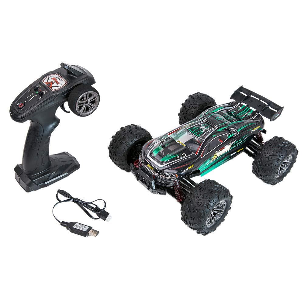 Sttech1 2.4Ghz RC Remote Control Car, 1/16 High Speed Remote Control RC Rock Crawler Racing Car Off Road Truck (Green)