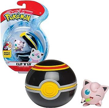 BANDAI - Pokémon-Poké Ball & sa Figura 5 cm Rondou, WT97640: Amazon.es: Juguetes y juegos