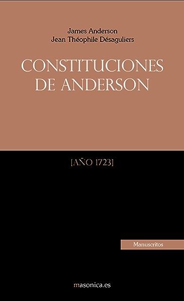 Constituciones de Anderson eBook: James Anderson, Vv.Aa: Amazon.es ...
