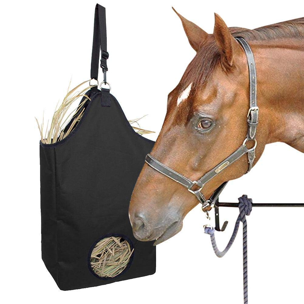 Hay Bag,Improves Digestion Wellbeing of Animals for Horse,Feed Straw Feeding Net