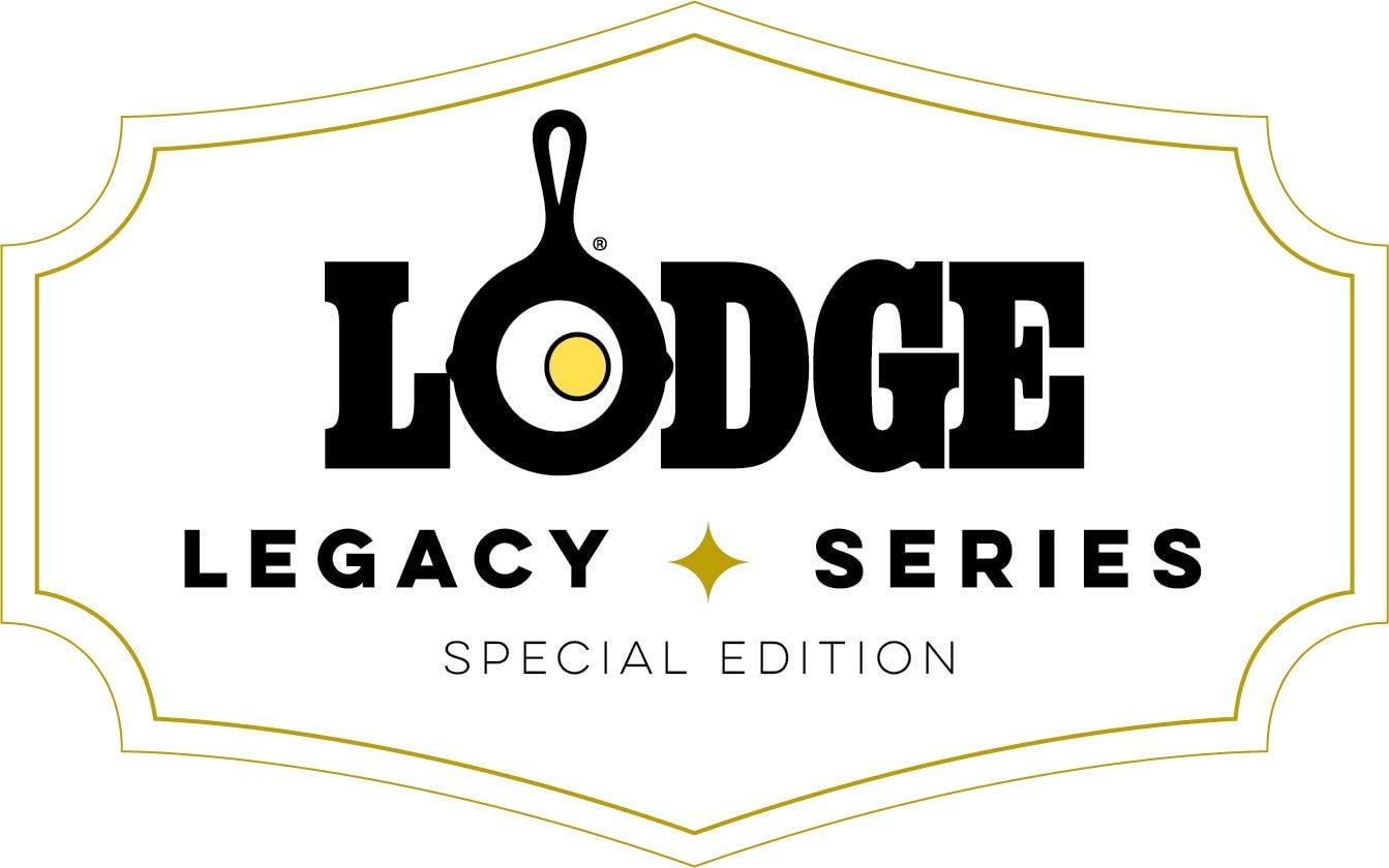 Lodge Legacy Series – Seasoned Cast Iron Fluted Cake Pan with Assist Handles