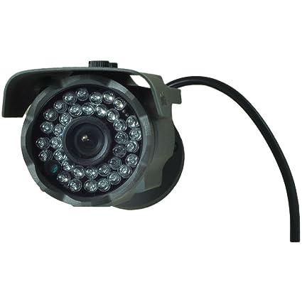 Cámara de seguridad CCTV tipo bala (negro), gran angular de 2,8 mm con 1000TVL, sensor CMOS, filtro IR-CUT, para el hogar, exteriores, visión diurna y ...