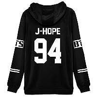 ShallGood Donna Autunno e Inverno Moda BTS Stampare Felpa con Cappuccio Maniche Lunghe Pullover Sweatshirt Hoody Hoodie