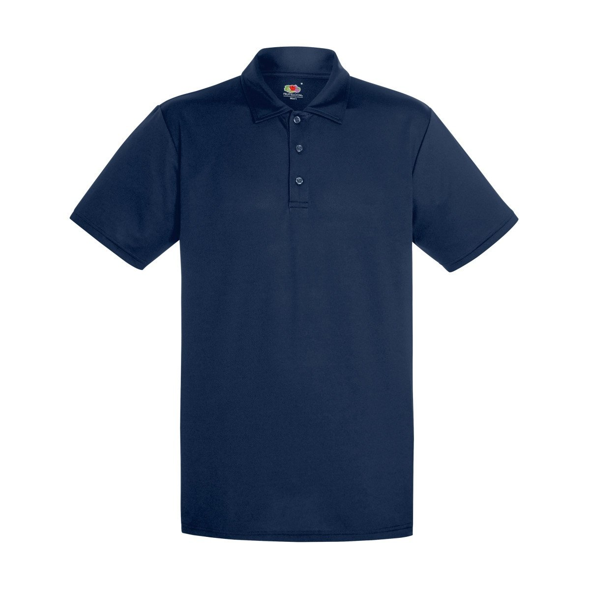 Fruit of the Loom Mens Short Sleeve Moisture Wicking Performance Polo Shirt