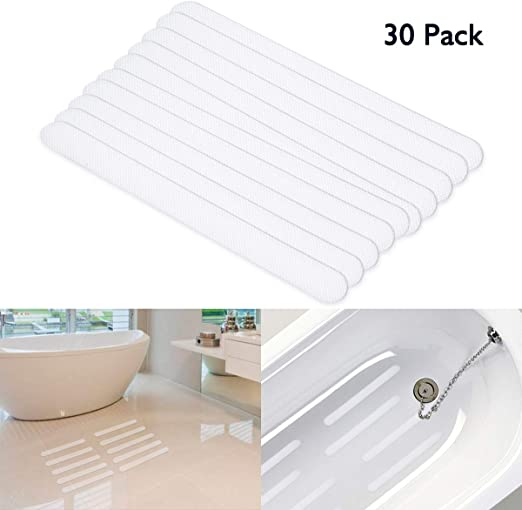 Waterproof Anti Slip Grip Strips Bathtub Slip Stickers Non Skid Adhesive Shower~