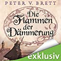 Die Flammen der Dämmerung (Demon Zyklus 3) Audiobook by Peter V. Brett Narrated by Jürgen Holdorf