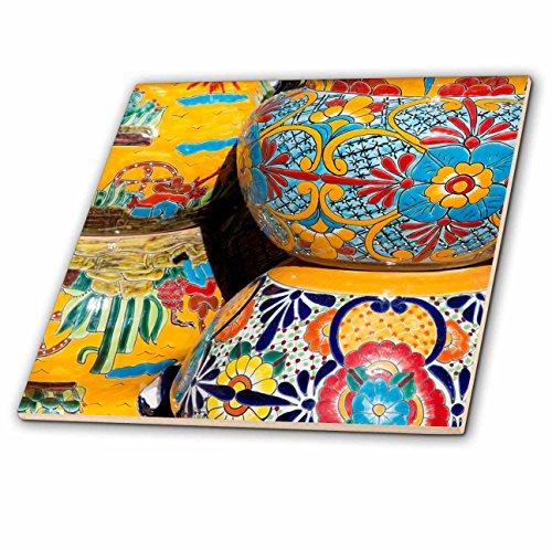 Danita Delimont - Pottery - Arizona, Tucson, Tubac. Traditional hand-painted Mexican pottery. - 12 Inch Ceramic Tile - Tile Ceramic 4 U Floors