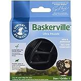The Company Of Animals Baskerville Ultra Dog Muzzle, Size 1, Black (61120A)