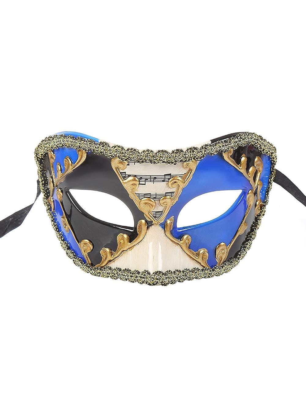 TAAMBAB Máscara Veneciana de Estilo Clásico Disfraces Hombre ...