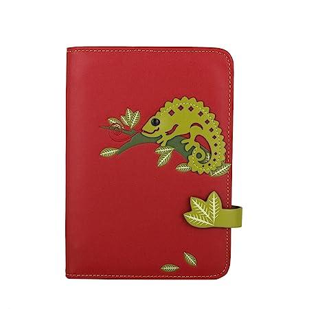 MENKAI Agenda tapa cubierta PU 88 pag. Mujer diseño camaleon ...