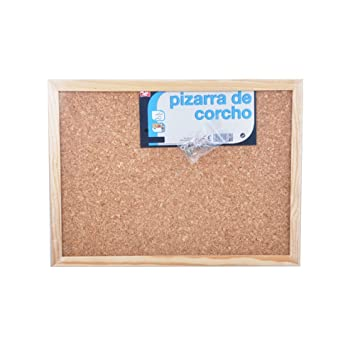 MP PT300D - Tablero corcho, doble cara, 30 x 40 cm: Amazon ...