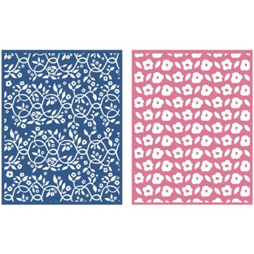 QUICKUTZ Lifestyle Crafts Gazebo 2-Pack Embossing Folder for Scrapbooking