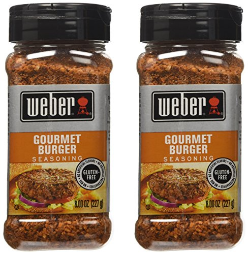 Weber Gourmet Burger Seasoning Pack