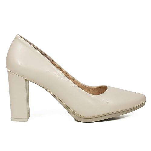 pas mal 67b0c c09b5 miMaO Chaussures. Escarpins en Cuir Made in Spain. Confort ...