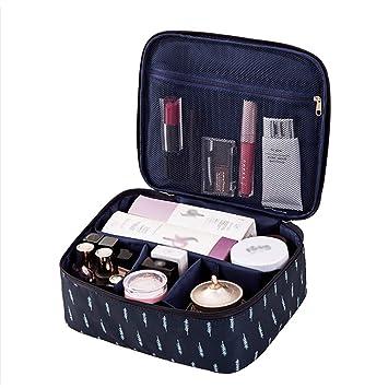 JooNeng - Bolsa de maquillaje profesional, portátil, bonita bolsa de viaje para cosméticos y brochas, bolsa organizadora para mujeres y niñas