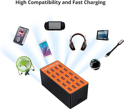 Docooler 100w 20 Port Usb Ladegerät Adapter Smart Elektronik