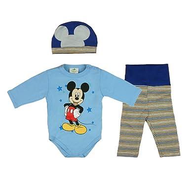 Hose Gr Neu Baby Junge Set 2 teilig hellblau//weiß Body 56 62 68 74 80
