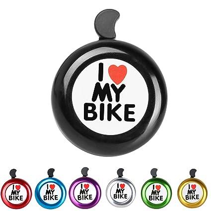 Amazon Ad Black Bike Bell I Love My Bike Bell Loud
