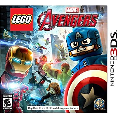 LEGO Marvel's Avengers - 3DS: Whv Games: Video Games