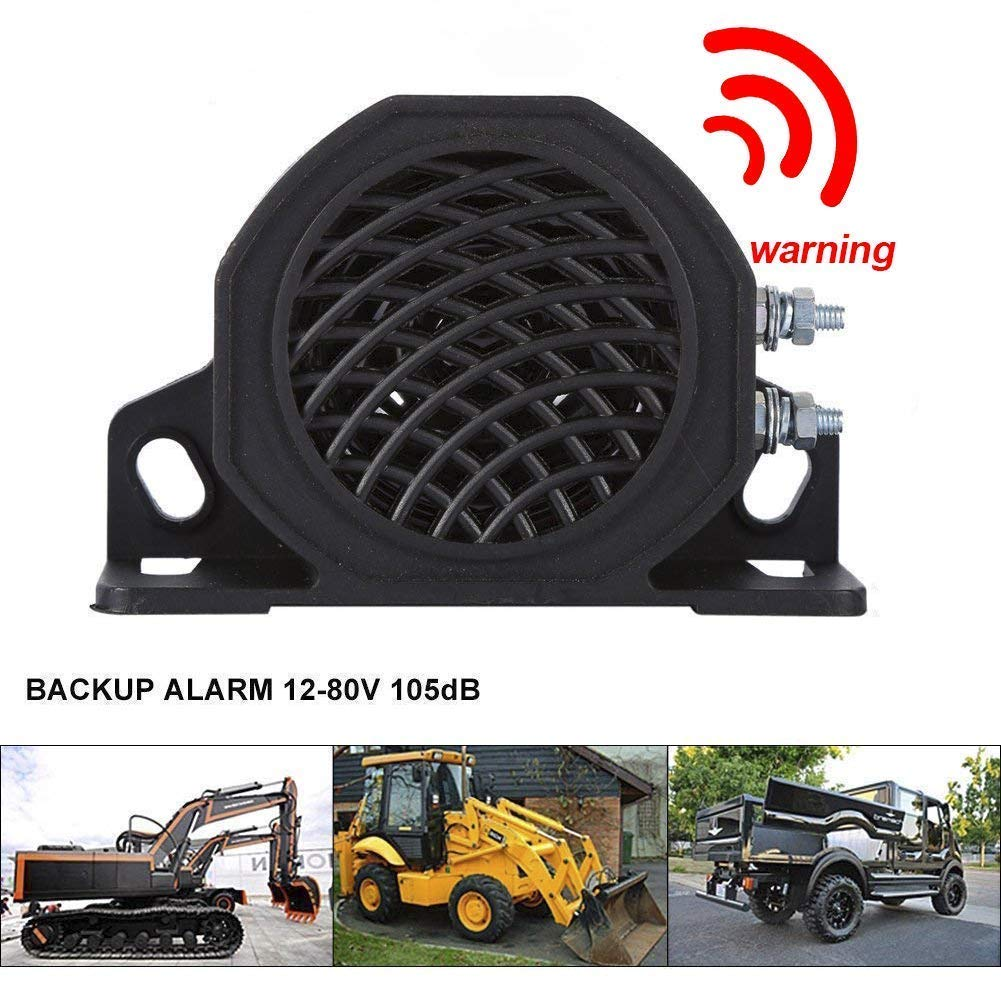 Universal Backup Warning Alarm 105b Beeper Construction Car Truck Heavy Vehicle
