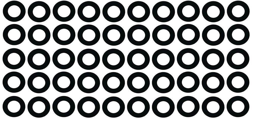 Black with a smooth finish 4 Pipe Size Sterling Seal CRG7000I.400.062.150X50 7000I Grafoil Ring Gasket 1//16 Thick Pressure Class 150# Pack of 50 4.5 ID